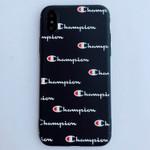 Black Champion Fashion iPhone Case