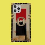 Bling square mirror luxury iPhone Case