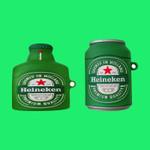 Creative solid Heineken beer Airpods Case