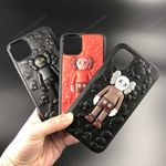 Trendy brand solid kaws doll iPhone Case