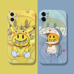 Trendy DREW Pikachu Cartoon Cat Phone Case