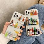 Three-dimensional Wine Bottle iPhone Case