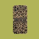 Leopard Christian Dio Fashion iPhone Case