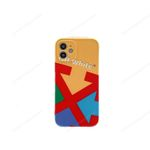 Colorful OW Arrow iPhone Case