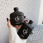 ck Black One Perfume Style Airpods Case