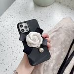 Pearl Camellia iPhone Case