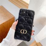 D Classic Plaid Leather iPhone Case