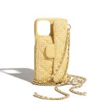 Luxury Yellow Classic Chain Bag iPhone Case