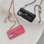 CC Classic Leather Chain Bag iPhone Case