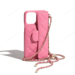 Luxury Pink Classic Chain Bag iPhone Case