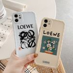 LOEWE Illustration Pattern iPhone Case