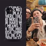 GD Star Style Letter iPhone Case