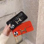 H Classic Leather iPhone Case