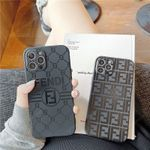 Fendi Black Style iPhone Case