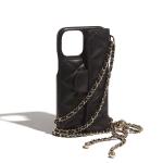Luxury Black Classic Chain Bag iPhone Case