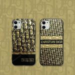 Black and Gold D iPhone Case