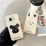 Bear Slide Camera Cover iPhone Case