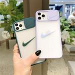 Matte Swoosh Camera Cover iPhone Case