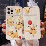 Pikachu Slide Camera Cover iPhone Case