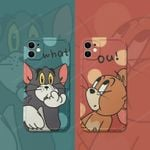 Tom and Jerry Couple iPhone Case