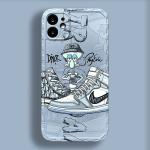 Squidward & Dior Pattern iPhone Case