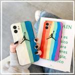 Rainbow Jumpman iPhone Case