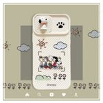 Snoopy Slide Camera Cover iPhone Case