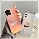 Transparent SWOOSH Laser iPhone Case