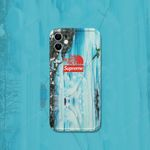 TNF X SUP Snow Mountain Background iPhone Case
