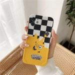 Checkered Vans X SpongeBob Phone Case