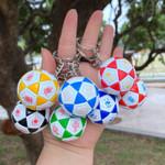 European Mini Football Keychain For Children