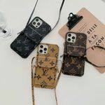 Luxury LV iPhone case with Card Slot