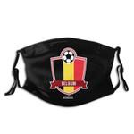 EURO 2020 Team Dustproof and washable adult mask
