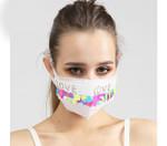 Fashion LOVE Printed Pattern Mask
