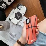 Basketball/Football Leather Pattern Phone Case