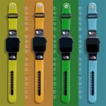 Colorful TNF Apple Watch Band