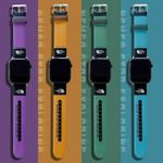 Simple Colorful TNF Apple Watch Band
