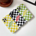 Colorful VS Checkerboard iPhone/Airpods case
