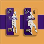 8/24 Lakers Color Matching iPhone Case