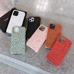 Luxury CC Camellia Pattern iPhone Case