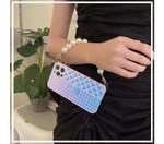 Luxury CC Pearl Bracelet iPhone Case