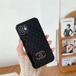 Luxury CC Rhombic Lattice iPhone Case