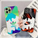 Fashion AD/SWOOSH Painting iPhone Case