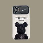 Bear x Swoosh Camera Cover iPhone Case