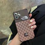 Luxury CD X TNF  iPhone Case