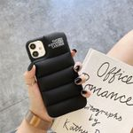 TNF Down Jacket Shaped iPhone Case
