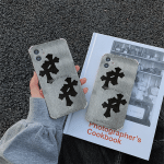 Fashion Black Cross iPhone Case