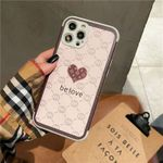 Retro Love Leather iPhone Case