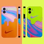 Fashion Colorful Swoosh iPhone Case