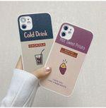 Purple Sweet Ptato Idea iPhone Case
